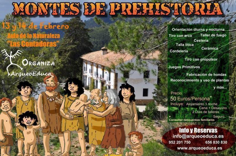 13 y 14 de Febrero – Montes de prehistoria